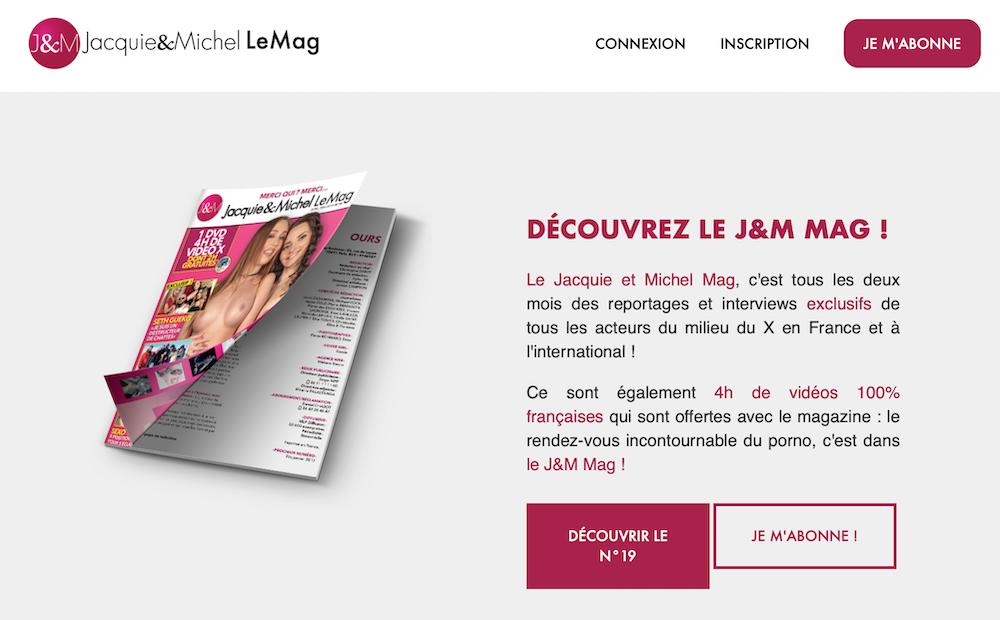 Le magazine Jacquie et Michel